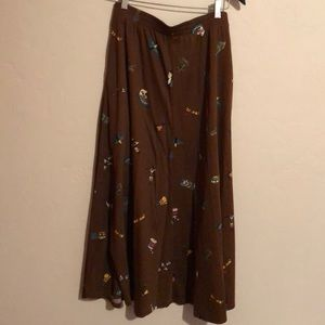 Women's full length skirt